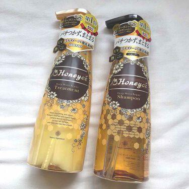 りこさんの「Honeyce'(ハニーチェ)ディープモイストリペア シャンプー/トリートメント<シャンプー・コンディショナー>」を含むクチコミ