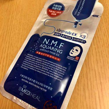 N.M.F アクアリング アンプル・マスクパック/メディヒール/シートマスク・パックを使ったクチコミ(1枚目)