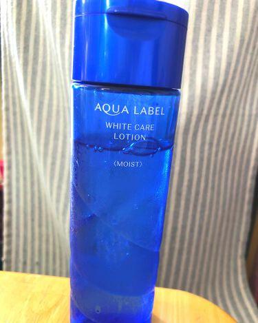 ホワイトケア ローション M/アクアレーベル/化粧水を使ったクチコミ(1枚目)