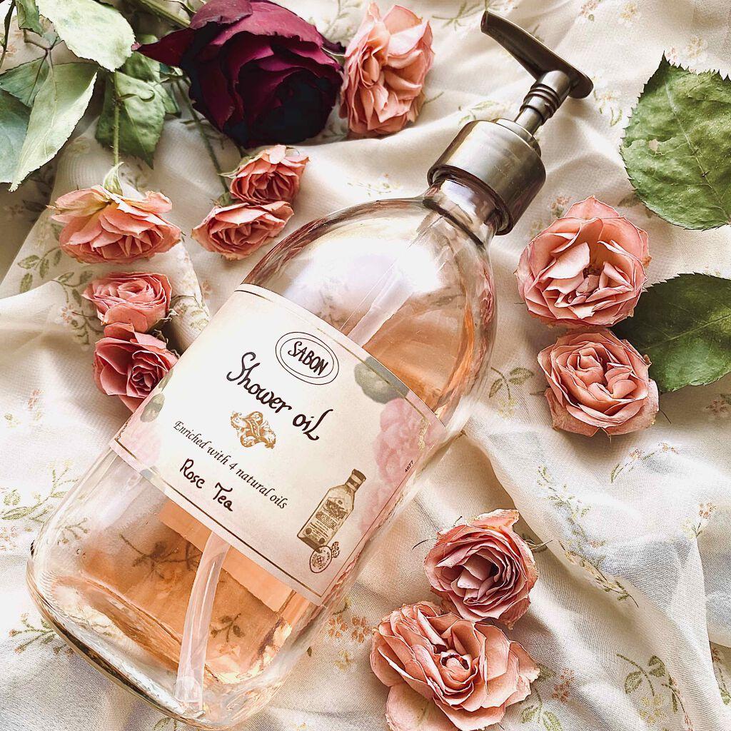 玫瑰茶語沐浴油
