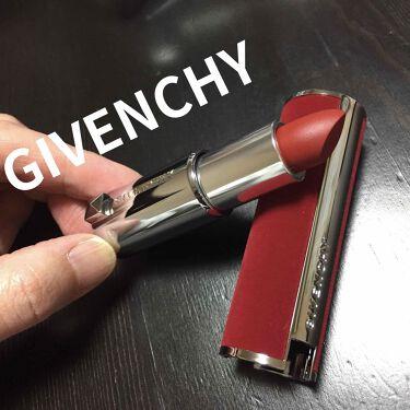 ルージュ・ジバンシイ・ベルベット/GIVENCHY/口紅を使ったクチコミ(1枚目)