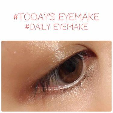 【画像付きクチコミ】2018.12.25#todaysmakeup#eyemakeということで本日もアイメイクのお時間ですどんどんぱふぱふ〜〜今日はですね!第2回にして!すでに!手抜き!!もう簡単。ブラウンのスティックシャドウを目の周りにぐるっとするだけ...