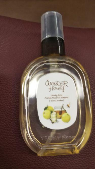 ワンダーハニー アロマエッセンスシャワー n シトラスソルベ/VECUA Honey/ボディローション・ミルクを使ったクチコミ(1枚目)