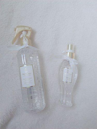フレグランス プレミアム ファブリックミスト/パルフェタムール サボンサボン/香水(レディース)を使ったクチコミ(2枚目)