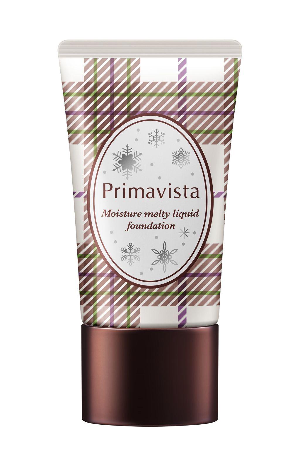 くずれにくい うるおい質感 メルティリキッドファンデーション プリマヴィスタ