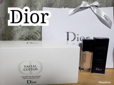 ディオール フェイシャル コットン/Dior/コットンを使ったクチコミ(1枚目)