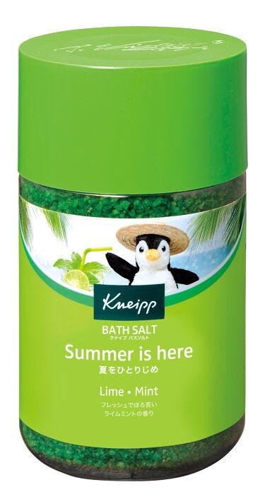 2020/4/28(最新発売日: 2021/4/27)発売 クナイプ クナイプ バスソルト ライムミントの香り