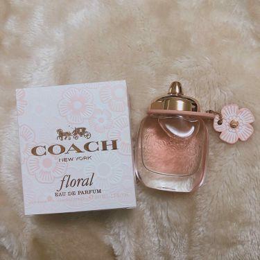 コーチ フローラル オードパルファム/COACH/香水(レディース)を使ったクチコミ(1枚目)