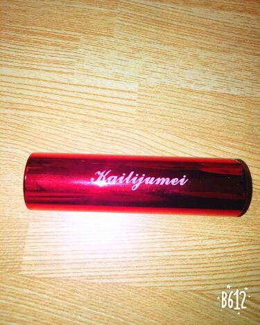 아야💕✨さんの「Kailijumei(カイリジュメイ)フラワーリップスティック<口紅>」を含むクチコミ