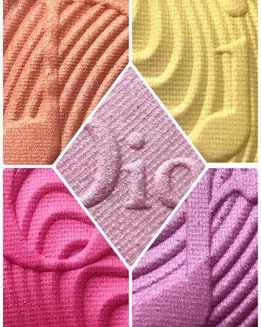 サンク クルール<グロウ バイブス>/Dior/パウダーアイシャドウを使ったクチコミ(2枚目)
