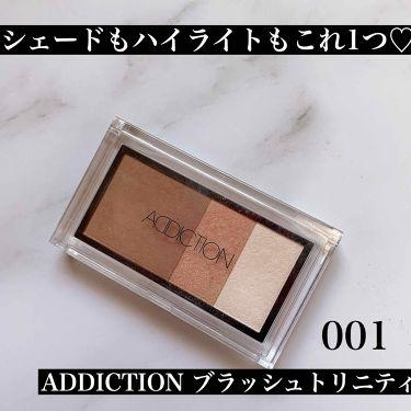 ブラッシュ トリニティ/ADDICTION/パウダーチーク by おばけパンダ🐼