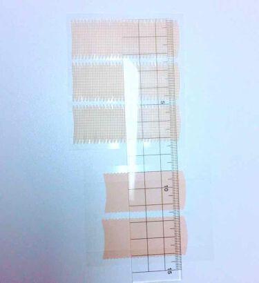 ふたえテープ 目立たず肌になじむ絆創膏タイプ/DAISO/二重まぶた用アイテムを使ったクチコミ(3枚目)