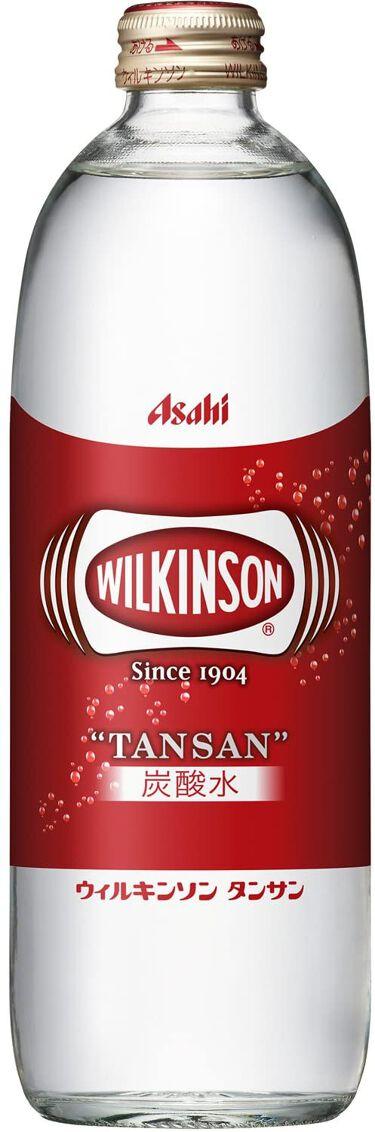 Wilkinson Tansan (ウィルキンソン タンサン/炭酸水) ワンウェイびん 500ml