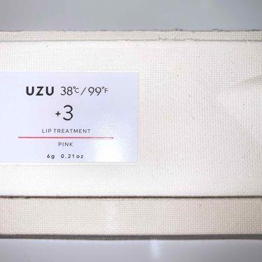 38°C / 99°F リップトリートメント (リップ美容液)/UZU BY FLOWFUSHI/リップケア・リップクリームを使ったクチコミ(1枚目)