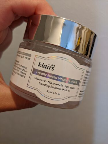 Freshly Juiced Vitamin Mask/Klairs/フェイスクリームを使ったクチコミ(1枚目)