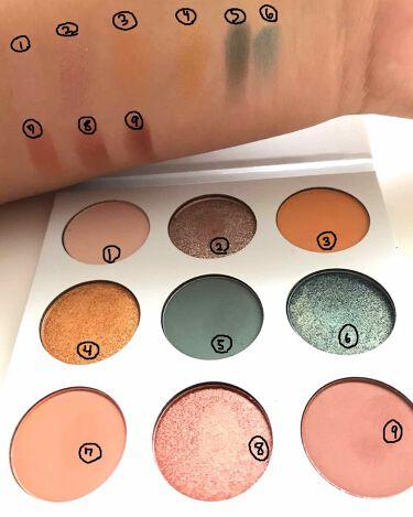kylie cosmetics ブルー ハニー アイシャドウパレット/Kylie Cosmetics/パウダーアイシャドウを使ったクチコミ(3枚目)