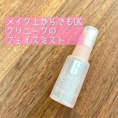 モイスチャー サージ フェース スプレー/CLINIQUE/ミスト状化粧水を使ったクチコミ(1枚目)