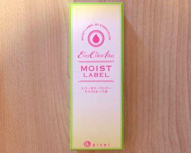エバーカラーワンデー モイストレーベル/エバーカラーワンデー/カラーコンタクトレンズを使ったクチコミ(1枚目)