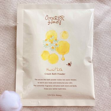はちみるく とろとろクリームバス/VECUA Honey/入浴剤を使ったクチコミ(2枚目)