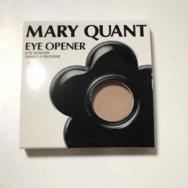 アイ オープナー/MARY QUANT/パウダーアイシャドウを使ったクチコミ(1枚目)