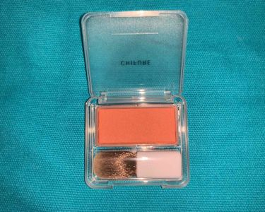 チーク カラー(ブラシ付)/ちふれ/パウダーチークを使ったクチコミ(2枚目)