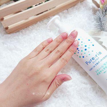 うるおいin手肌すっきり洗浄乳液/Pure-ria/ハンドクリームを使ったクチコミ(5枚目)