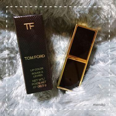 リップス アンド ボーイズ/TOM FORD BEAUTY/口紅を使ったクチコミ(1枚目)
