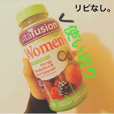 愛梨花🌷 on LIPS 「【vitafusionWomen'sGummyVitamins..」(1枚目)