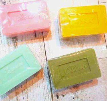 サボン・ド・マルセイユ(マルセイユソープ)/DAISO/洗顔石鹸を使ったクチコミ(2枚目)
