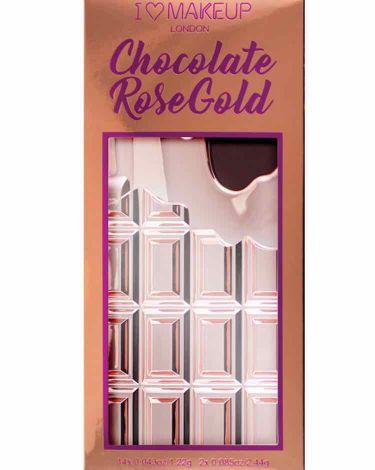 アイラブチョコレート/MAKEUP REVOLUTION/パウダーアイシャドウを使ったクチコミ(3枚目)