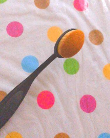 ザ・ダイソー DAISO 歯ブラシ型メイクブラシ
