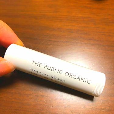 精油リップスティック/ザ パブリック オーガニック/リップケア・リップクリームを使ったクチコミ(1枚目)