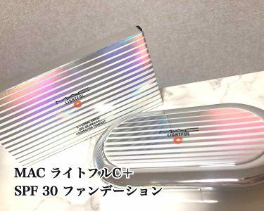 ライトフル C+ SPF 30 ファンデーション/M・A・C/パウダーファンデーションを使ったクチコミ(1枚目)
