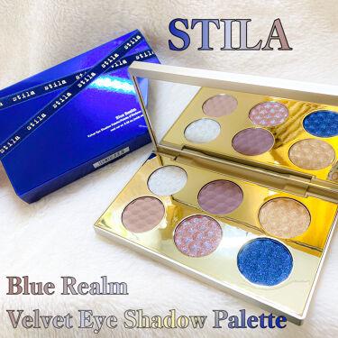 Blue Realm/stila/パウダーアイシャドウを使ったクチコミ(1枚目)