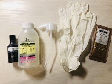 泡カラー(医薬部外品)/リーゼ/ヘアカラーを使ったクチコミ(3枚目)
