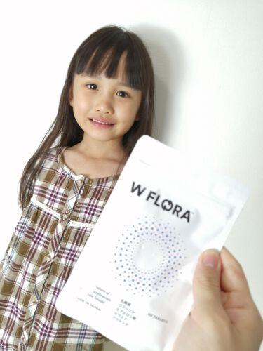"""【画像付きクチコミ】WFLORA(ダブルフローラ)をお試しさせていただきました😊✨✨こちらは体内フローラと美容へWアプローチする全く新しい乳酸菌サプリメントなんだそうです(*^^*)体内フローラをサポートするだけでなく、""""美容""""乳酸菌の力であふれでる美し..."""