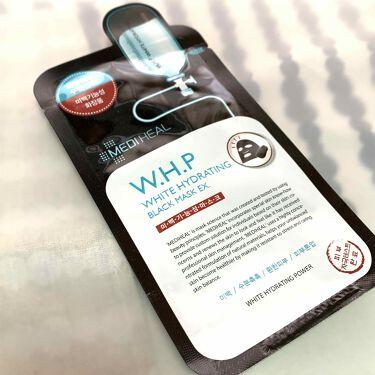 W.H.P ホワイトハイドレーティング ブラックマスクEX./MEDIHEAL/シートマスク・パックを使ったクチコミ(1枚目)