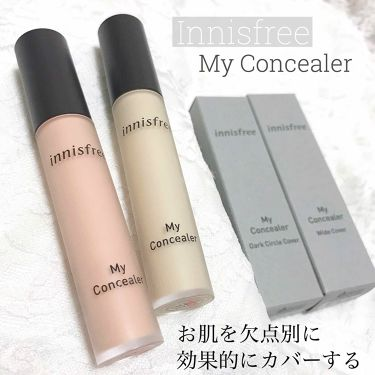 マイコンシーラー アンダーアイ カバー/innisfree/コンシーラー by マ~イ