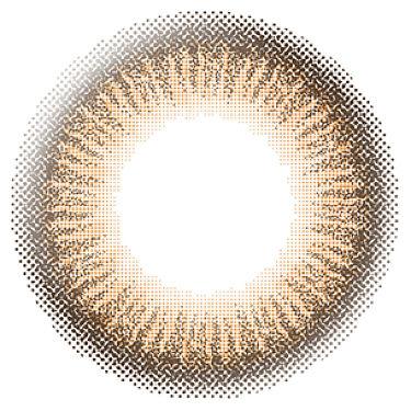 エバーカラーワンデー ナチュラル APRICOT BROWN(アプリコットブラウン)