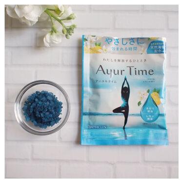Ayur Time(アーユルタイム)/アーユルタイム/入浴剤を使ったクチコミ(4枚目)