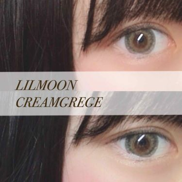 LIL MOON 1MONTH/LIL MOON/カラーコンタクトレンズを使ったクチコミ(1枚目)