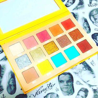 THIRSTY アイシャドウ パレット/Jeffree Star Cosmetics/パウダーアイシャドウを使ったクチコミ(1枚目)