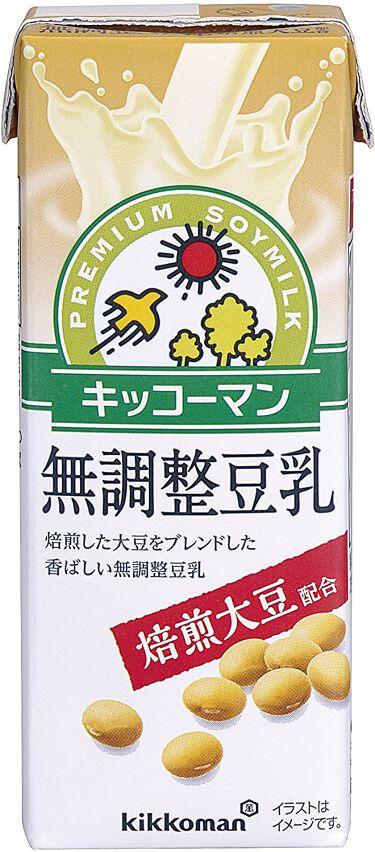 おいしい無調製豆乳 焙煎大豆 無調整豆乳200ml