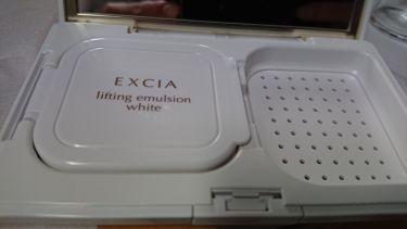エクシア AL リフティング エマルジョン ホワイト/ALBION/クリーム・エマルジョンファンデーションを使ったクチコミ(2枚目)