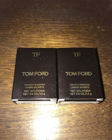 プライベート シャドウ/TOM FORD BEAUTY/パウダーアイシャドウを使ったクチコミ(2枚目)