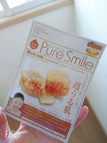 ローヤルゼリー/Pure Smile/シートマスク・パックを使ったクチコミ(1枚目)