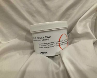 One Step Original Clear Pad (ワンステップオリジナルクリアパッド)/COSRX.INC/シートマスク・パックを使ったクチコミ(1枚目)