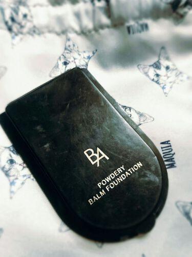 B.A パウダリィバームファンデーションM/B.A/パウダーファンデーションを使ったクチコミ(1枚目)