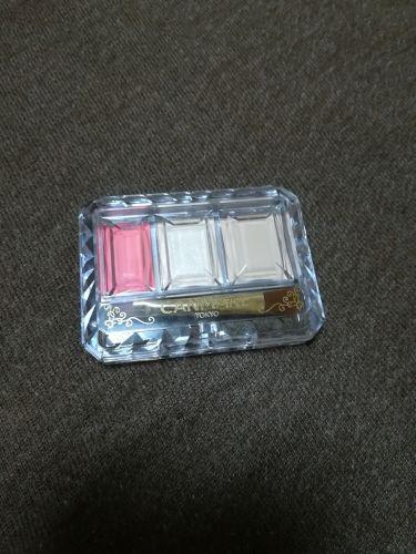 シークレットカラーアイズ/CANMAKE/パウダーアイシャドウを使ったクチコミ(2枚目)