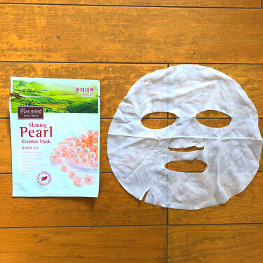 Pure mind スキンケアシート/Purele(ピュアレ)/シートマスク・パックを使ったクチコミ(1枚目)